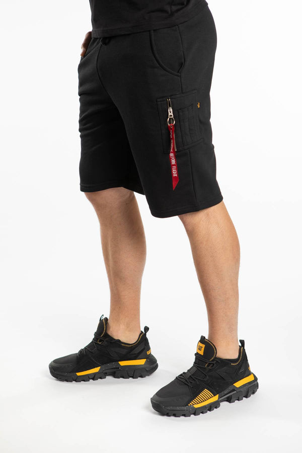 #00152  Alpha Industries Shorts X-Fit Cargo Short 03 BLACK