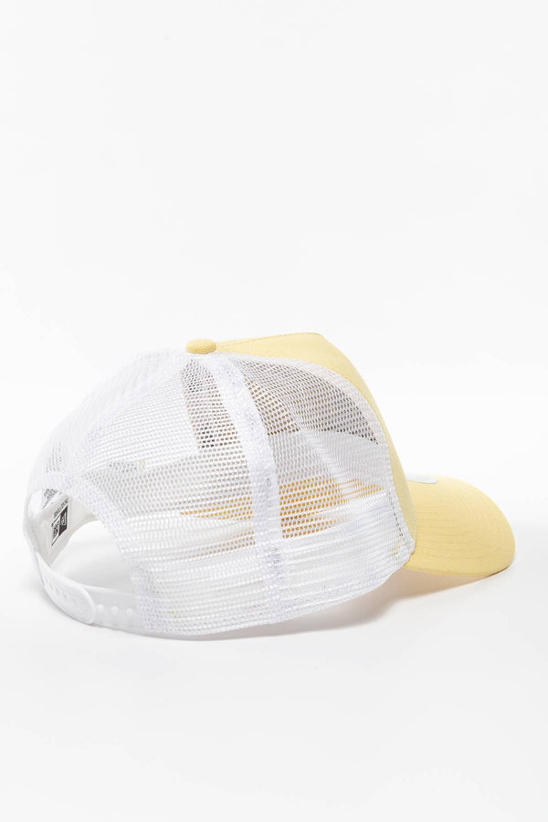 #00006  New Era Mütze WMNS TRUCKER LA DODGERS 756 YELLOW/WHITE