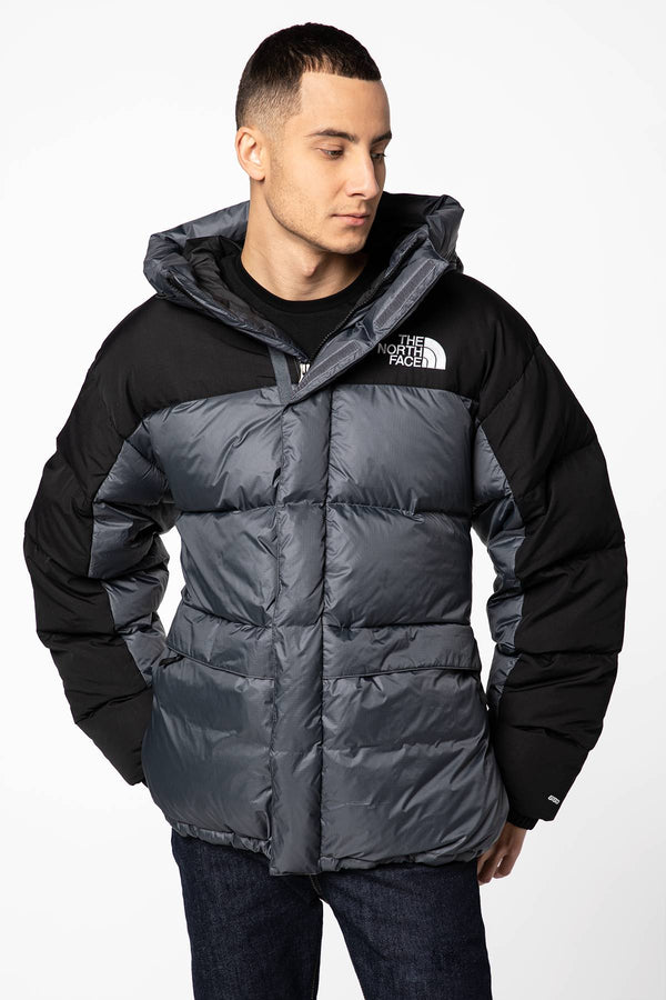 #00024  The North Face Jacke M HIMALAYAN Down Parka Vanadis Grey NF0A4QYX174 GREY/BLACK