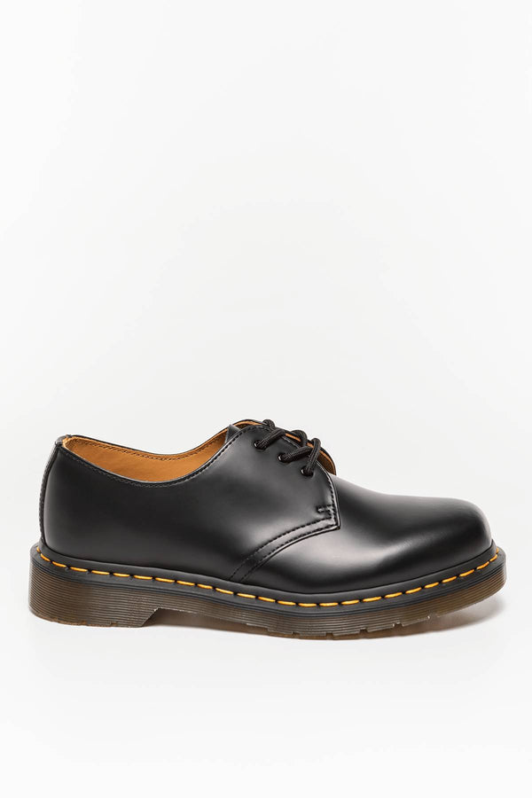 #00027  Dr.Martens Halbschuhe 1461 BLACK SMOOTH DM11838002 BLACK