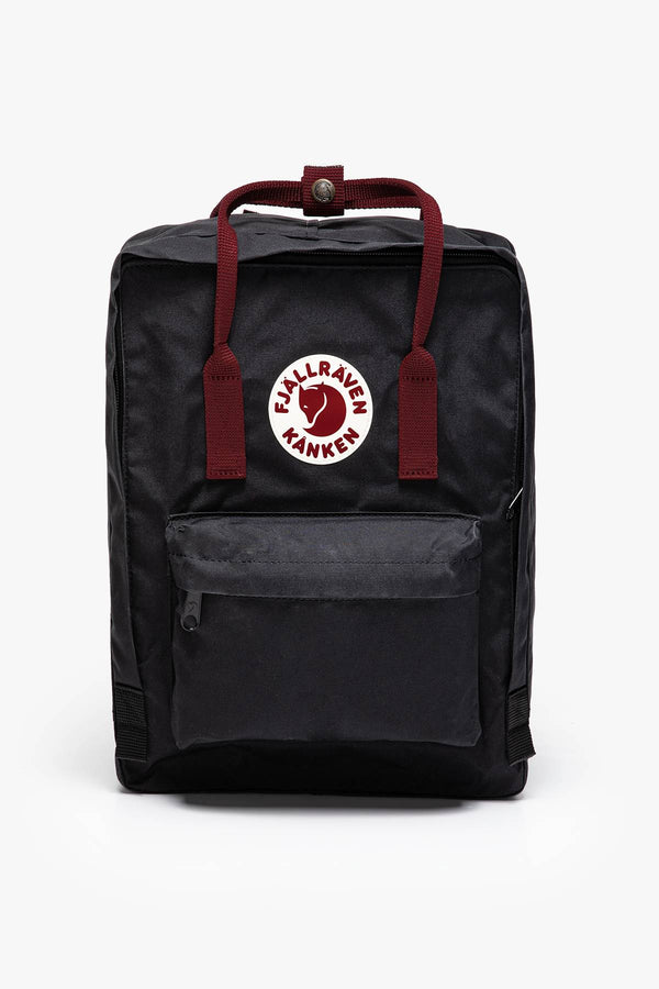 #00013  Fjallraven Rücksack Kanken Black/Ox Red