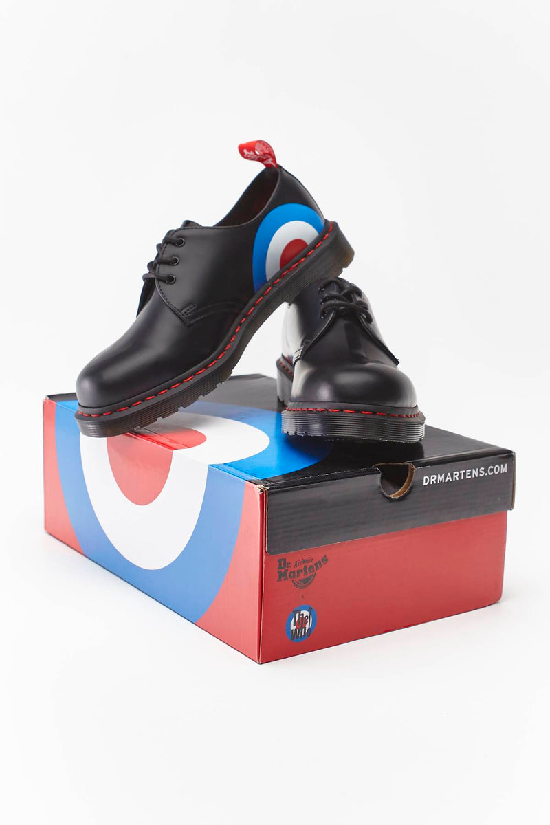 #00074  Dr.Martens Halbschuhe THE WHO 1461 BLACK