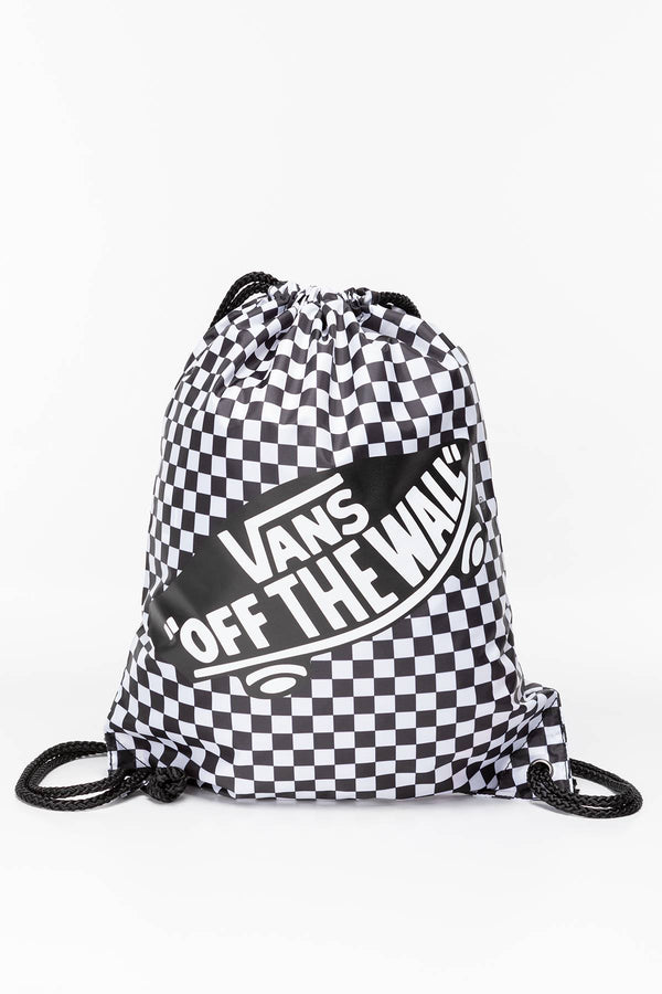 #00045  Vans BENCHED BAG 56M BLACK/WHITE