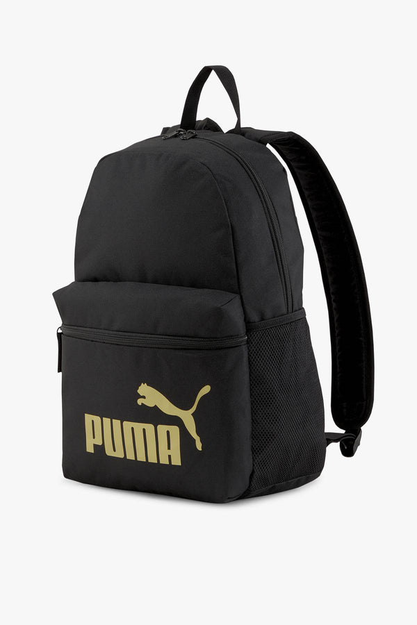 #00027  Puma Rücksack PLECAK Phase Backpack Puma Black-Golden lo 07548749 BLACK