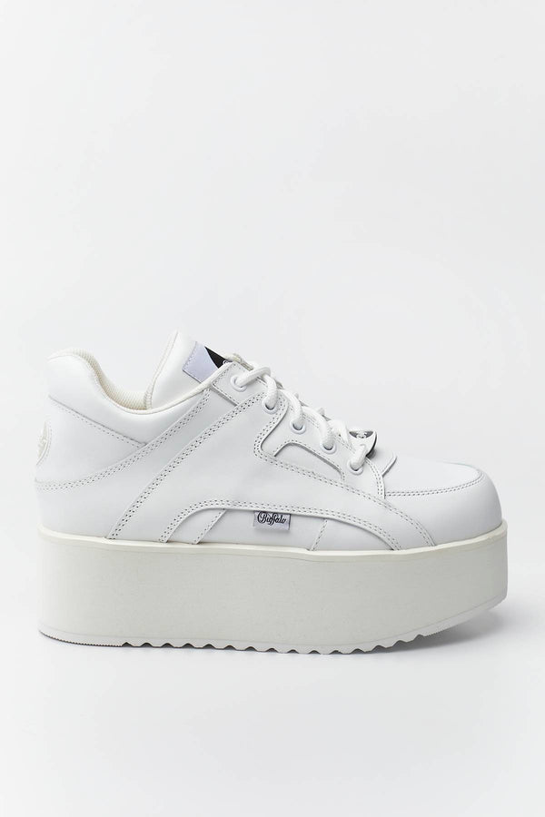 #00002  Buffalo Sneakers RISING TOWERS 068 WHITE