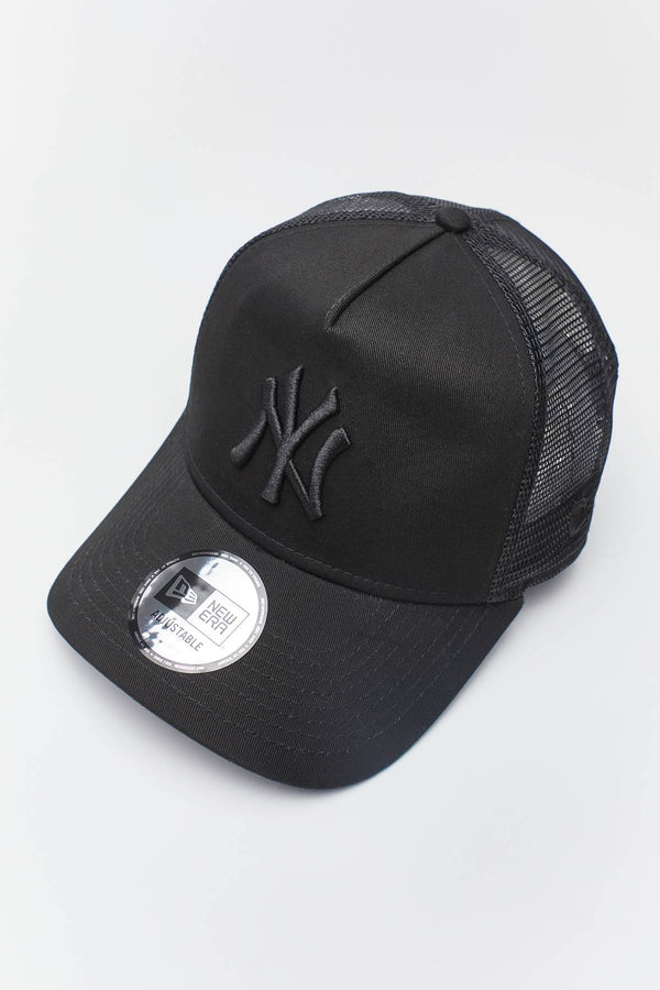 #00010  New Era 9FORTY CLEAN TRUCKER 474 BLACK