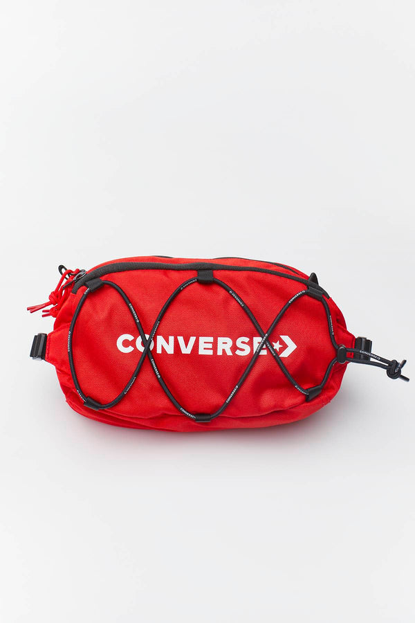 #00136  Converse Gürteltasche HIP-BAG SWAP-OUT SLING A06 UNIVERSITY RED/CONVERSE BLACK