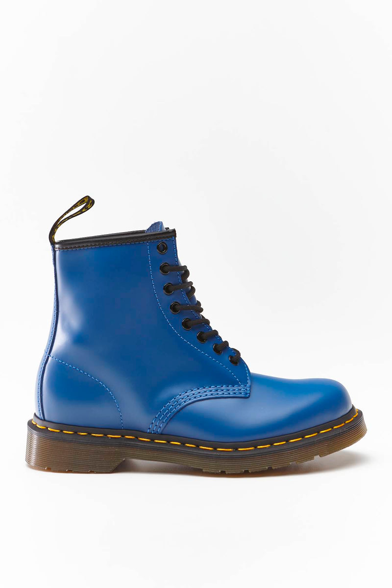 #00109  Dr.Martens High-Top Schuhe 1460 SMOOTH SUMMER ICONS BLUE