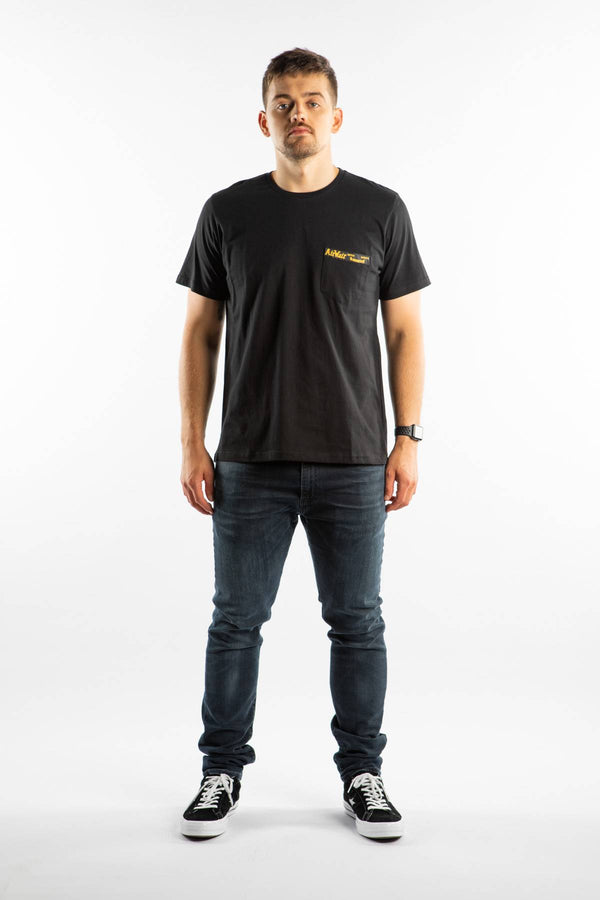 #00111  Dr.Martens T-Shirt TAPE T-SHIRT 001 BLACK
