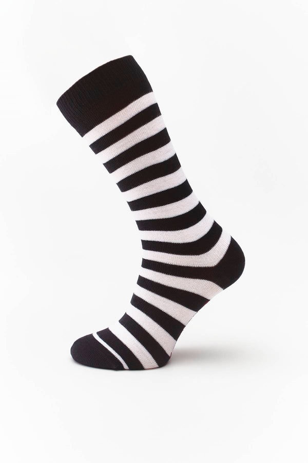 #00097  Dr.Martens Socken THIN STRIPE SOCK WHITE/BLACK