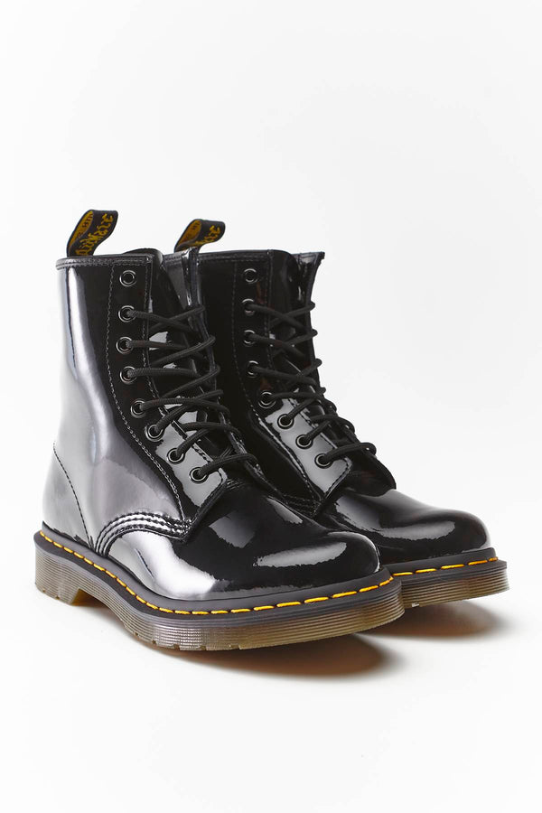 #00044  Dr.Martens High-Top Schuhe 1460 W Black Patent DM11821011
