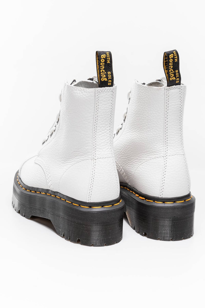#00051  Dr.Martens High-Top Schuhe SINCLAIR WHITE AUNT SALLY DM26261100 WHITE