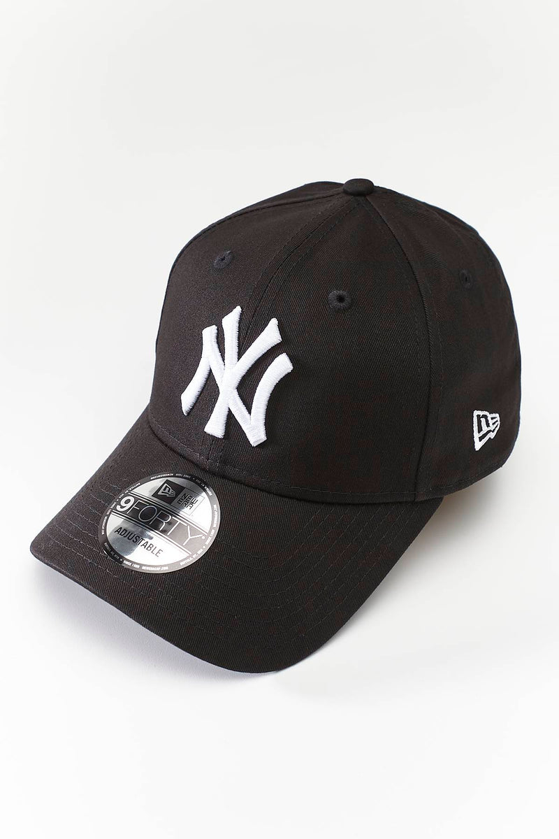 #00057  New Era 9FORTY LEAGUE BASIC 941 BLACK