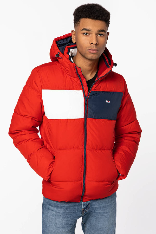 #00001  Tommy Jeans Jacke Outerwear DM0DM09375-XNL RED