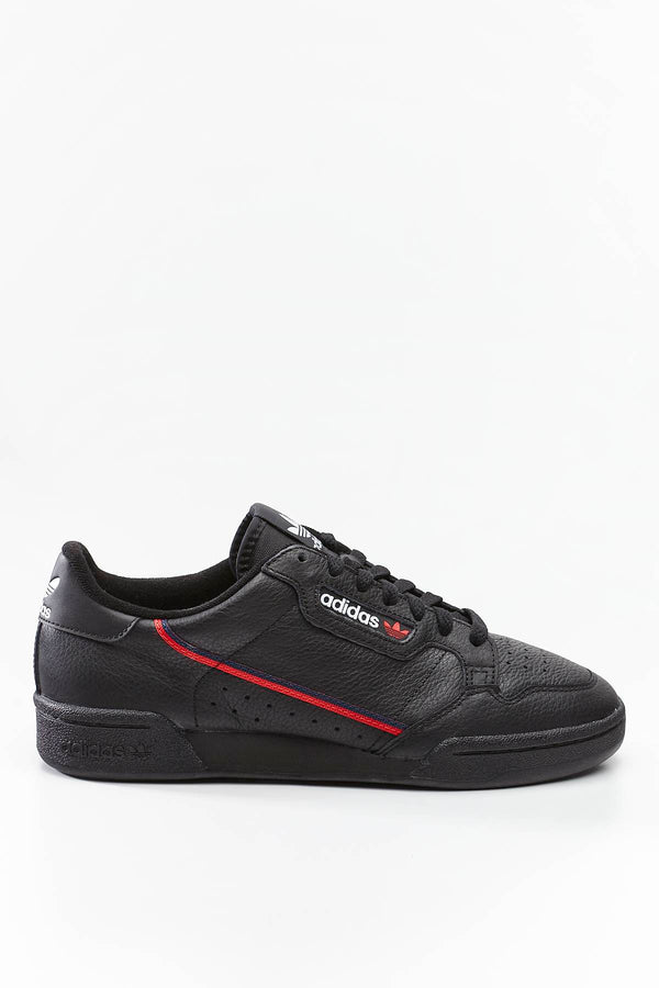#00185  adidas Sneakers CONTINENTAL 80 707 CORE BLACK/SCARLET/COLLEGIATE NAVY