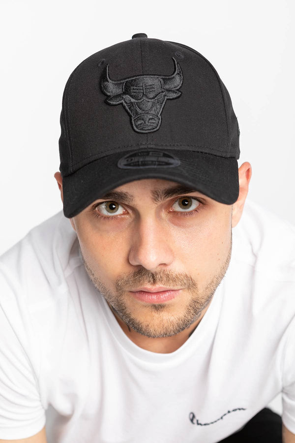 #00001  New Era Mütze 9FIFTY CHICAGO BULLS BLK BLACK