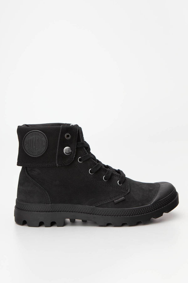 #00002  Palladium High-Top Schuhe PAMPA BAGGY NUBUCK Black