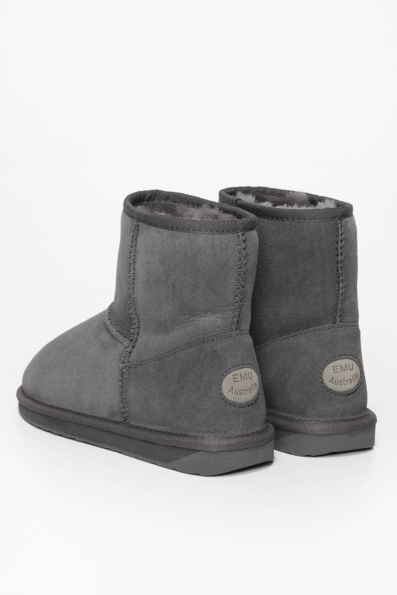 #00003  EMU Australia Winterschuhe Stinger Mini Charcoal
