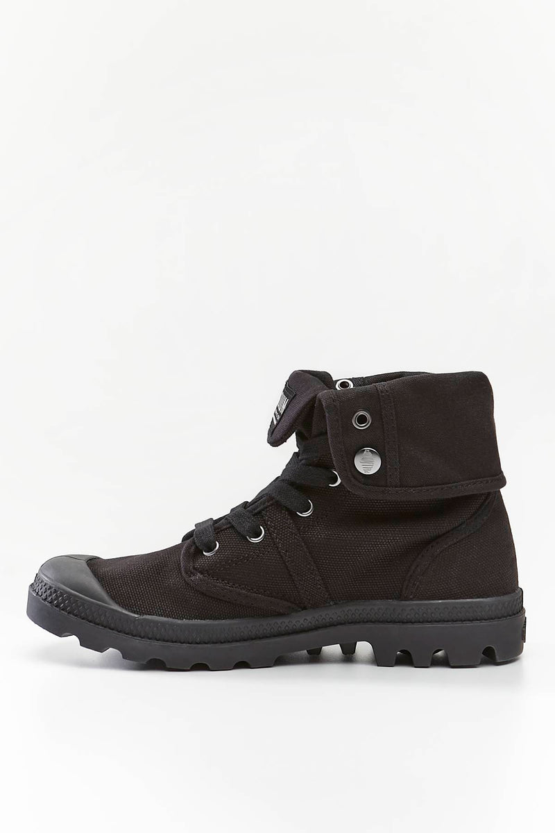 #00035  Palladium High-Top Schuhe PALLABROUSE BAGGY 001 BLACK/BLACK