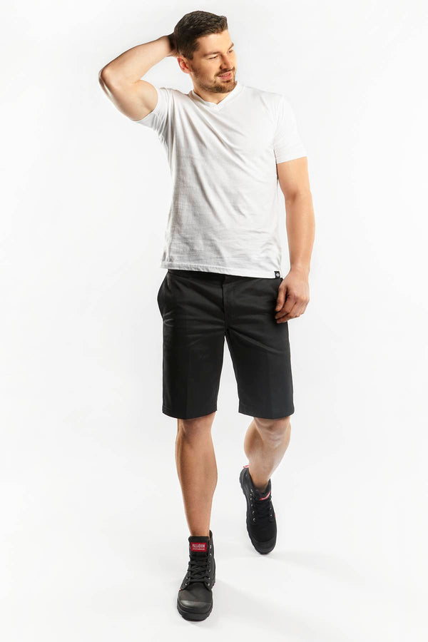 #00006  Dickies Shorts SLIM STRAIGHT WORK SHORTS BLK BLACK