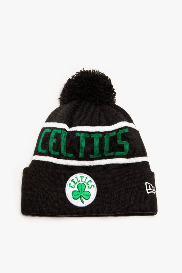 #00006  New Era Mütze OTC BOBBLE KNIT 853 BOSTON CELTICS