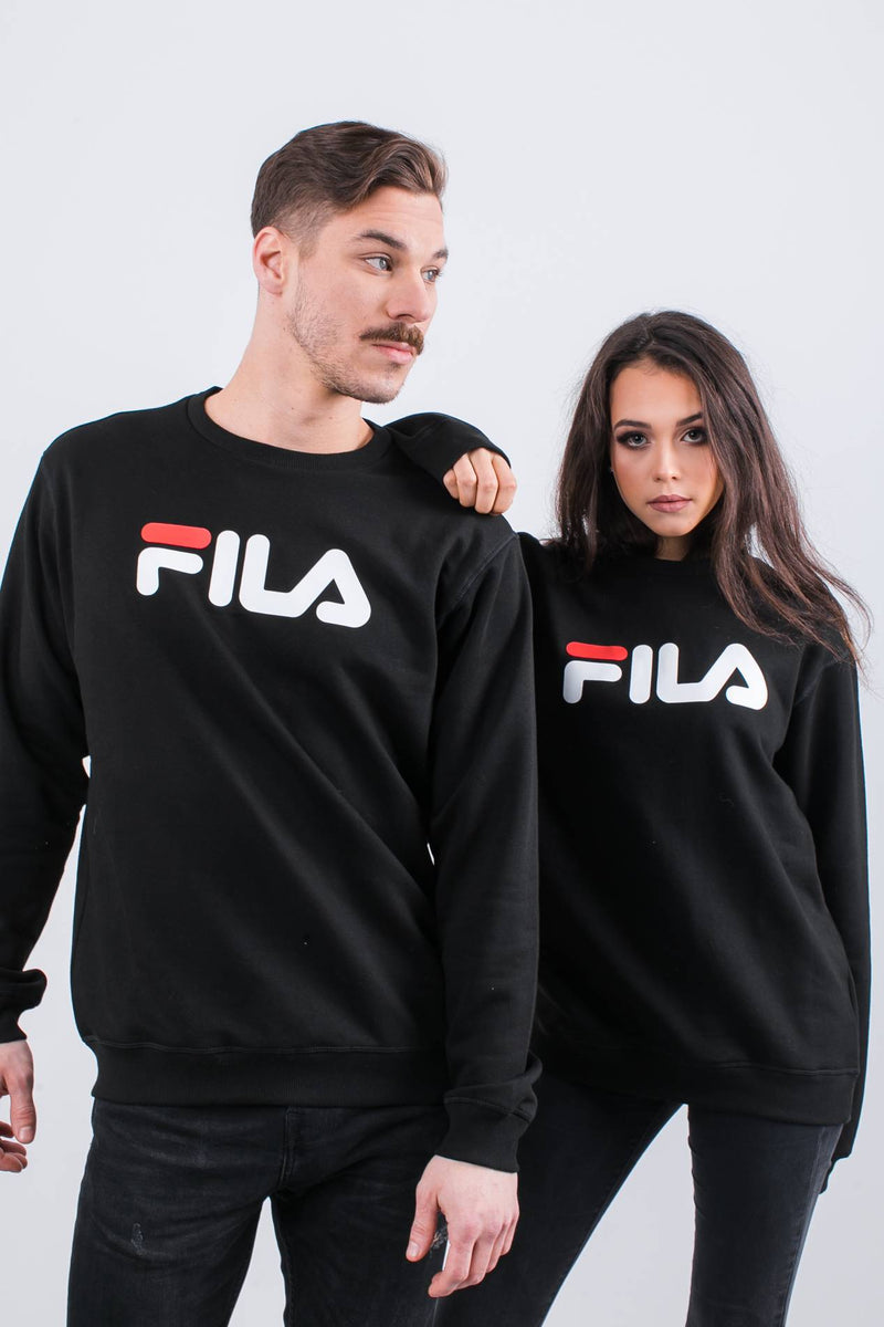 #00048  Fila Bluse PURE CREW SWEAT 002 BLACK