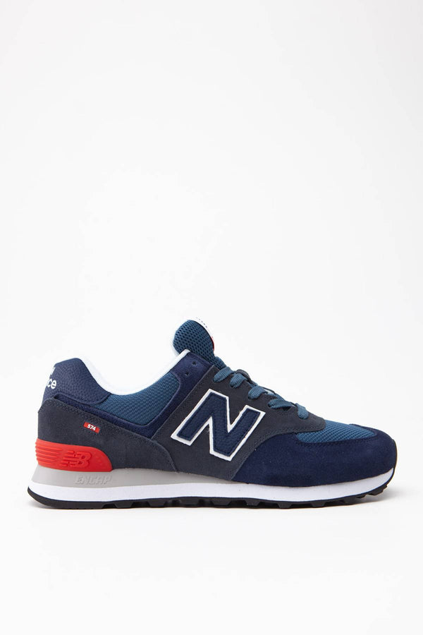 #00029  New Balance Sneakers ML574EAE BLACK/NAVY