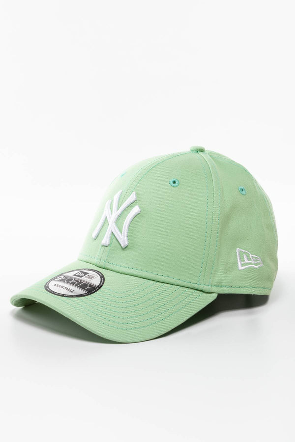 #00008  New Era Mütze NEW YORK YANKEES ESSENTIAL 9FORTY 595 GREEN