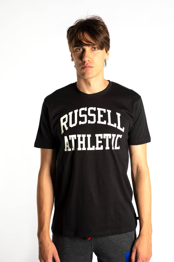 #00010  Russell Athletic T-Shirt CREWNECK TEE SHIRT 099 BLACK