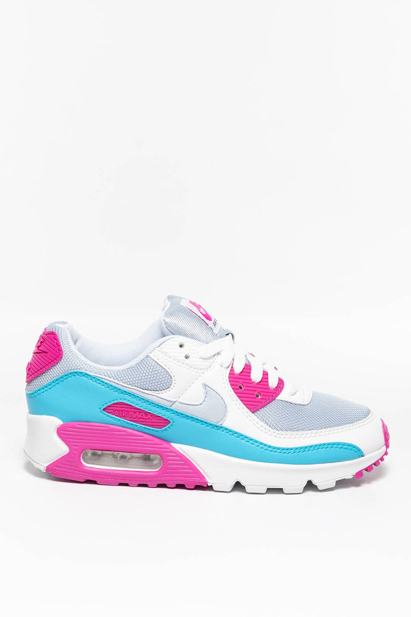 #00004  Nike Sneakers W Air Max 90 CT1030-001 WHITE/BLUE/PINK
