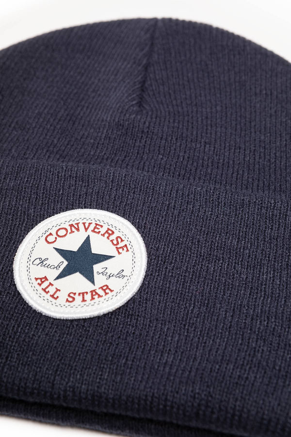 #00191  Converse Mütze 10019012-A03 Chuck Patch Tall Beanie NAVY
