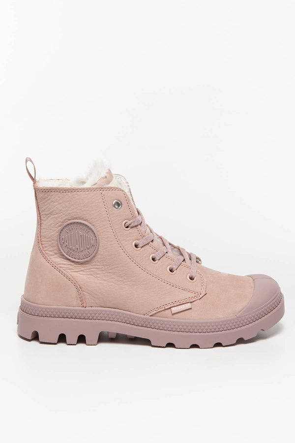 #00001  Palladium High-Top Schuhe PAMPA HI ZIP WL 671 ROSE DUST/FAWN