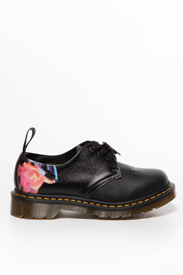 #00041  Dr.Martens Halbschuhe 1461 Black Sabbath BLACK/MULTI