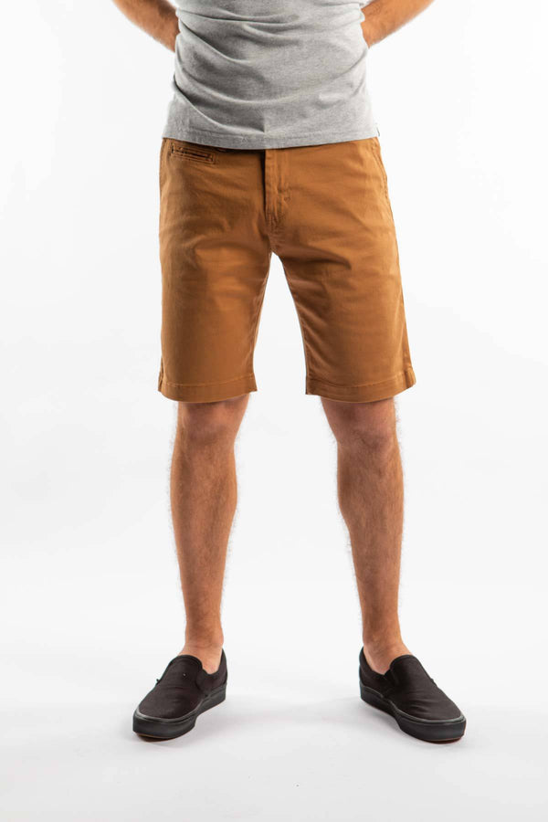 #00033  Dickies Shorts PALM SPRINGS 067 BD BROWN DUCK