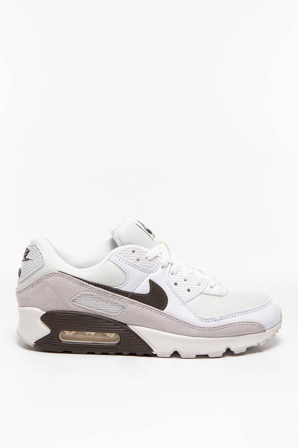 #00008  Nike Sneakers Air Max 90 CW7483-100 WHITE/BAROQUE BROWN-SAIL