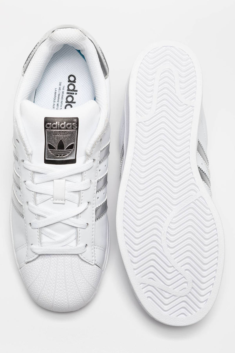 #00155  adidas Sneakers SUPERSTAR 091 WHITE/SILVER METALLIC/CORE