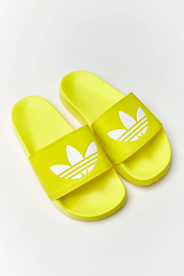 #00018  adidas Pantoffeln ADILETTE LITE 140 SHOCK YELLOW/CLOUD WHITE/SHOCK YELLOW