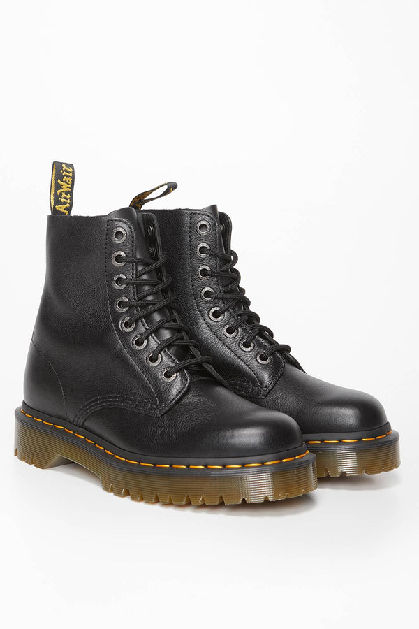 #00049  Dr.Martens High-Top Schuhe 1460 Pascal Bex Pisa BLACK