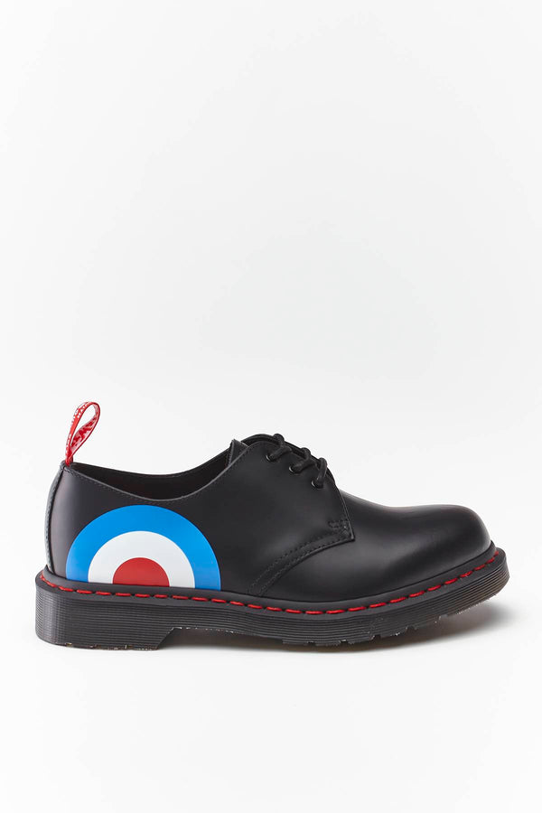 #00057  Dr.Martens Halbschuhe THE WHO 1461 BLACK