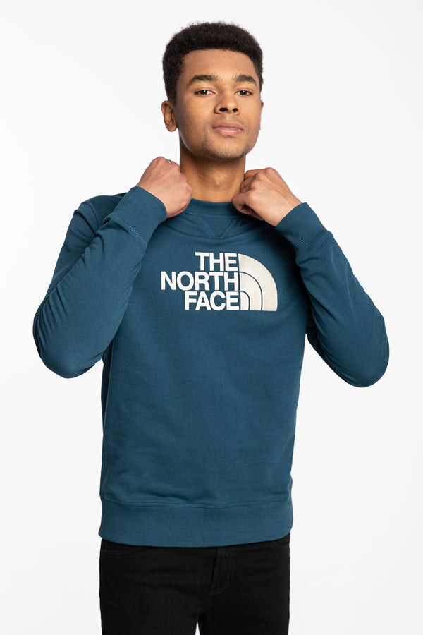 #00021  The North Face Bluse BLUZA M DREW PEAK CREW LIGHT NF0A4T1EBH71 BLUE