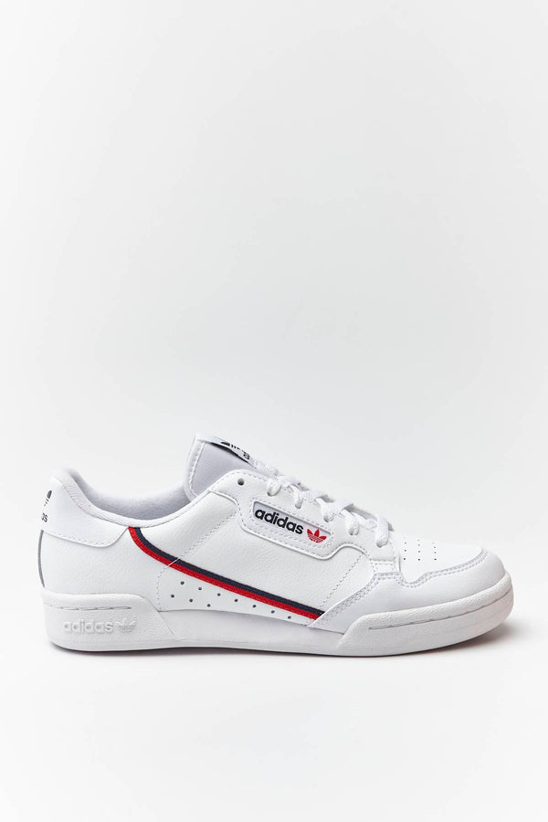 #00188  adidas Sneakers CONTINENTAL 80 J 787 CLOUD WHITE/SCARLET/COLLEGIATE NAVY