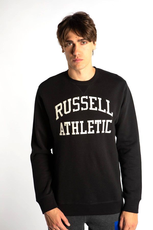 #00002  Russell Athletic Bluse CREWNECK SWEATSHIRT 099 BLACK