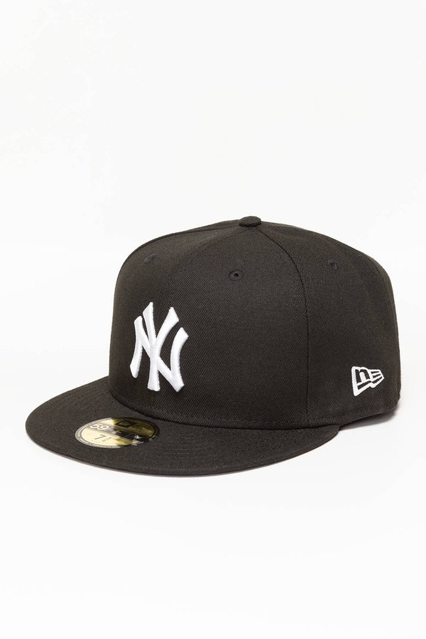#00057  New Era FULLCAP MLB BASIC 10003436 BLACK