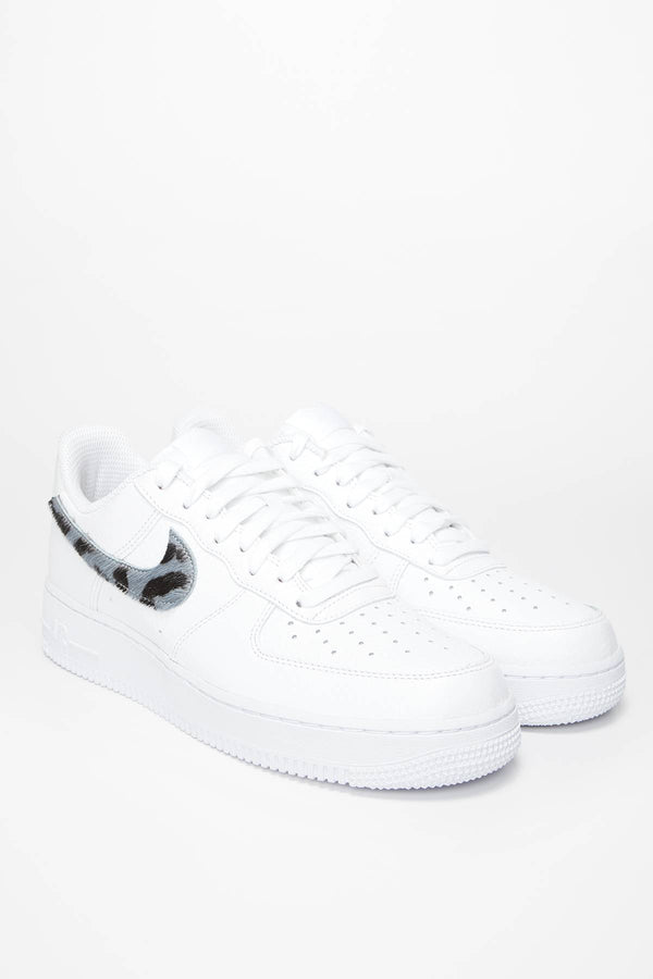 #00069  Nike Sneakers Air Force 1 LV8 CW7567-100 WHITE/THUNDERSTORM WHITE