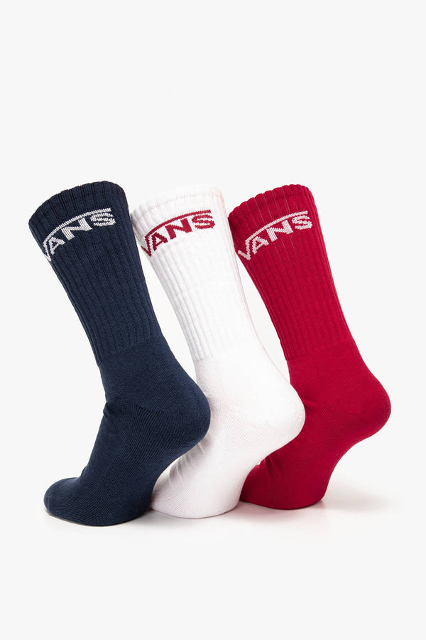 #00044  Vans Socken MN CLASSIC CREW Y91 NAVY / WHITE / RED