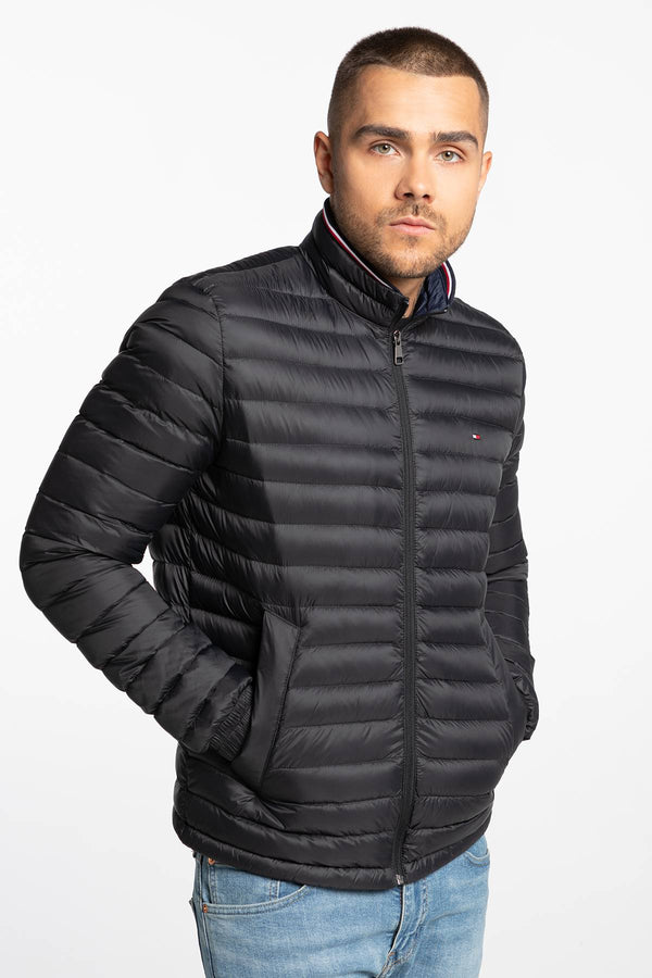 #00001  Tommy Hilfiger Jacke CORE PACKABLE DOWN JACKET MW0MW12720-BAS BLACK