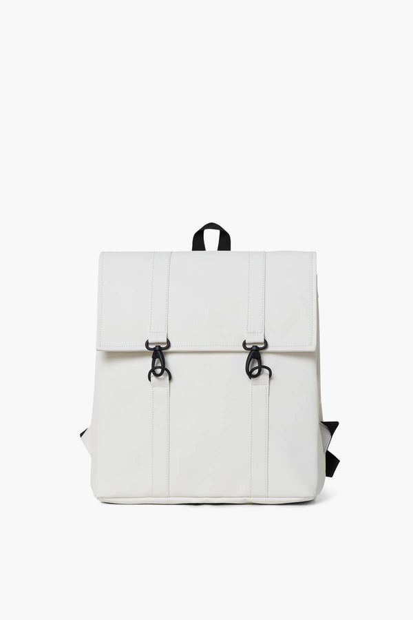#00006  Rains Rücksack MSN Bag Mini 1357-58 OFF WHITE