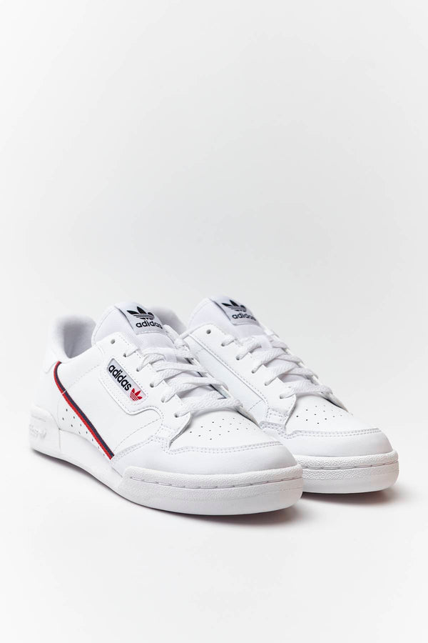 #00079  adidas Sneakers CONTINENTAL 80 J 787 CLOUD WHITE/SCARLET/COLLEGIATE NAVY