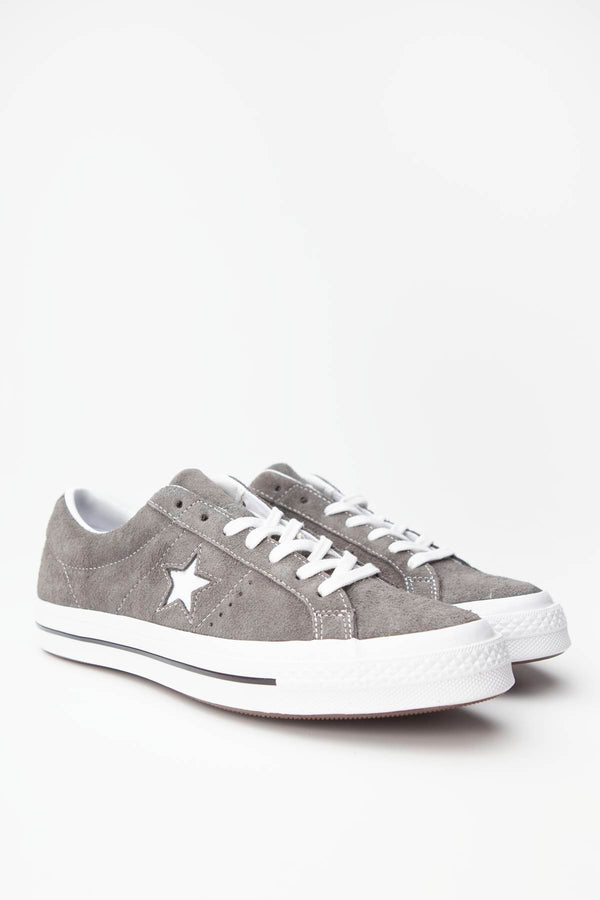 #00093  Converse Turnschuhe ONE STAR OX 034 CARBON GREY/WHITE/BLACK