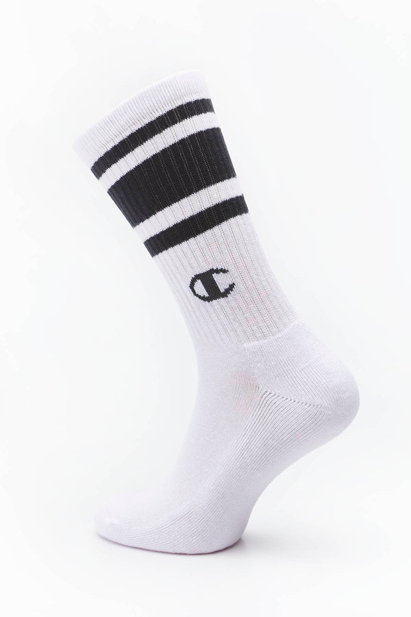 #00030  Champion Socken SHORT CREW SOCKS KK001 BLACK/WHITE